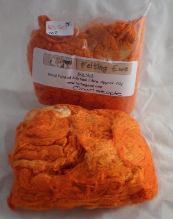 Orangeade Silk Noils