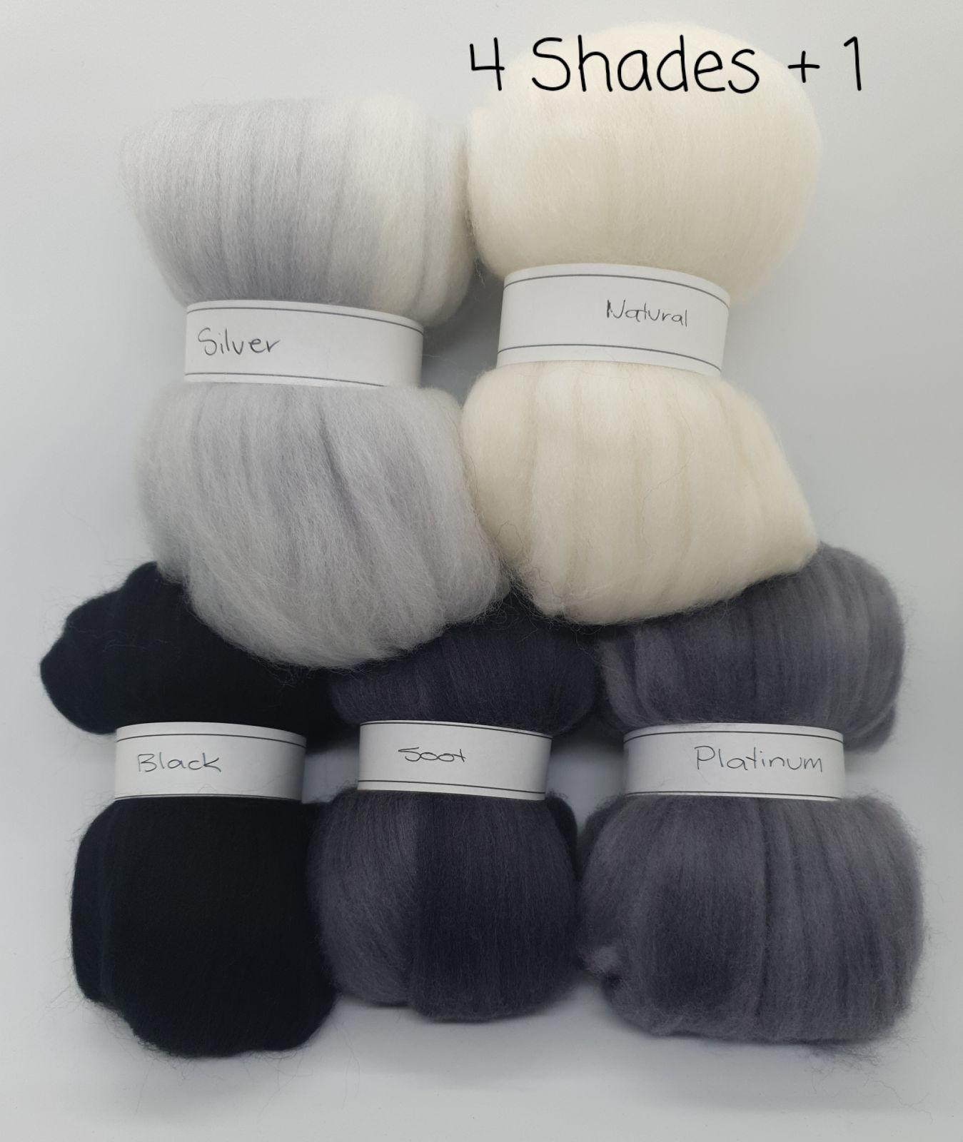 4 Shades of Grey plus 1