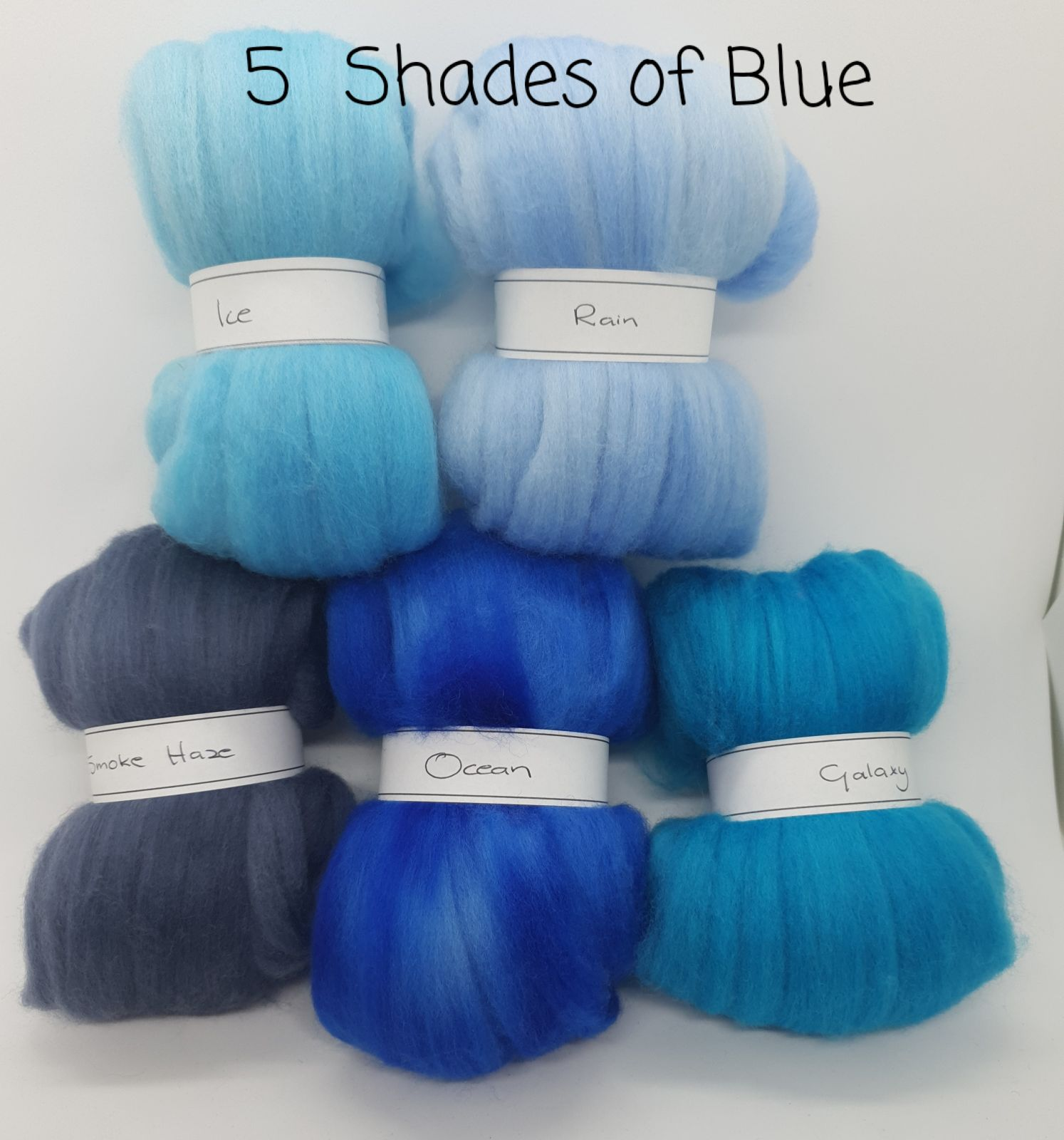 5 Shades of Blue