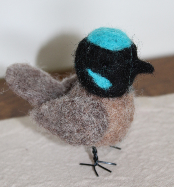 Blue Wren Felting Kit