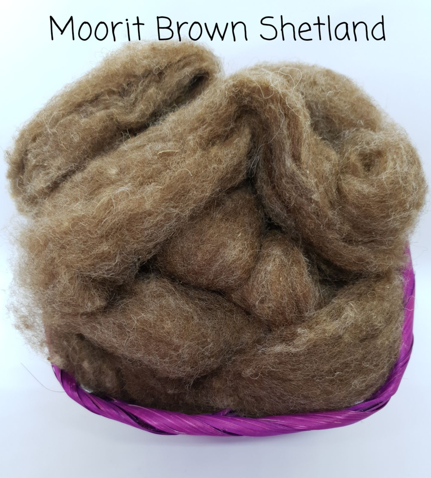 Moorit Brown Shetland Slither