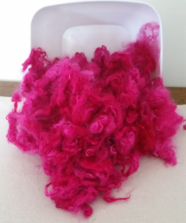 Outragaous Pink Mohair