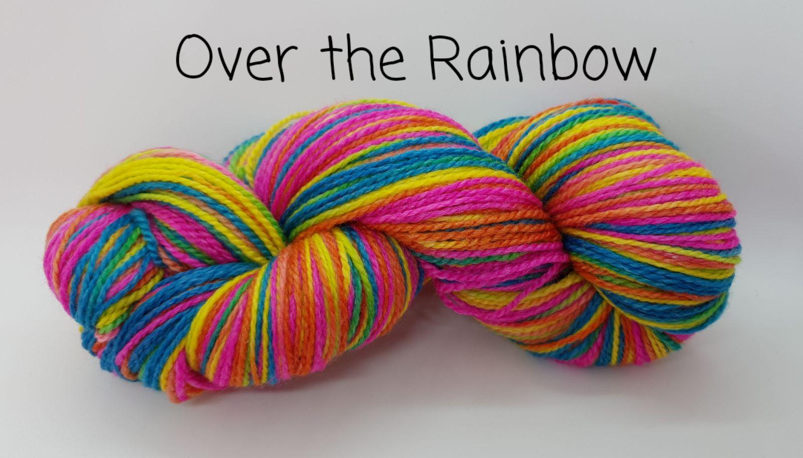 Over the Rainbow Sock Yarn