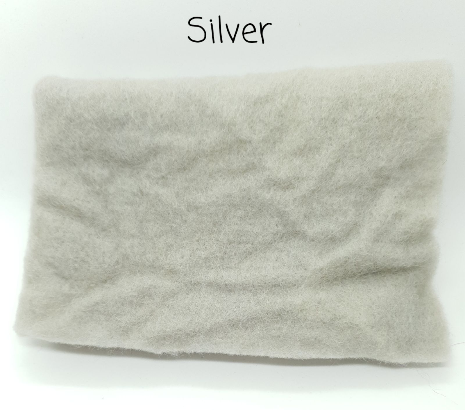 Silver Pre Felt
