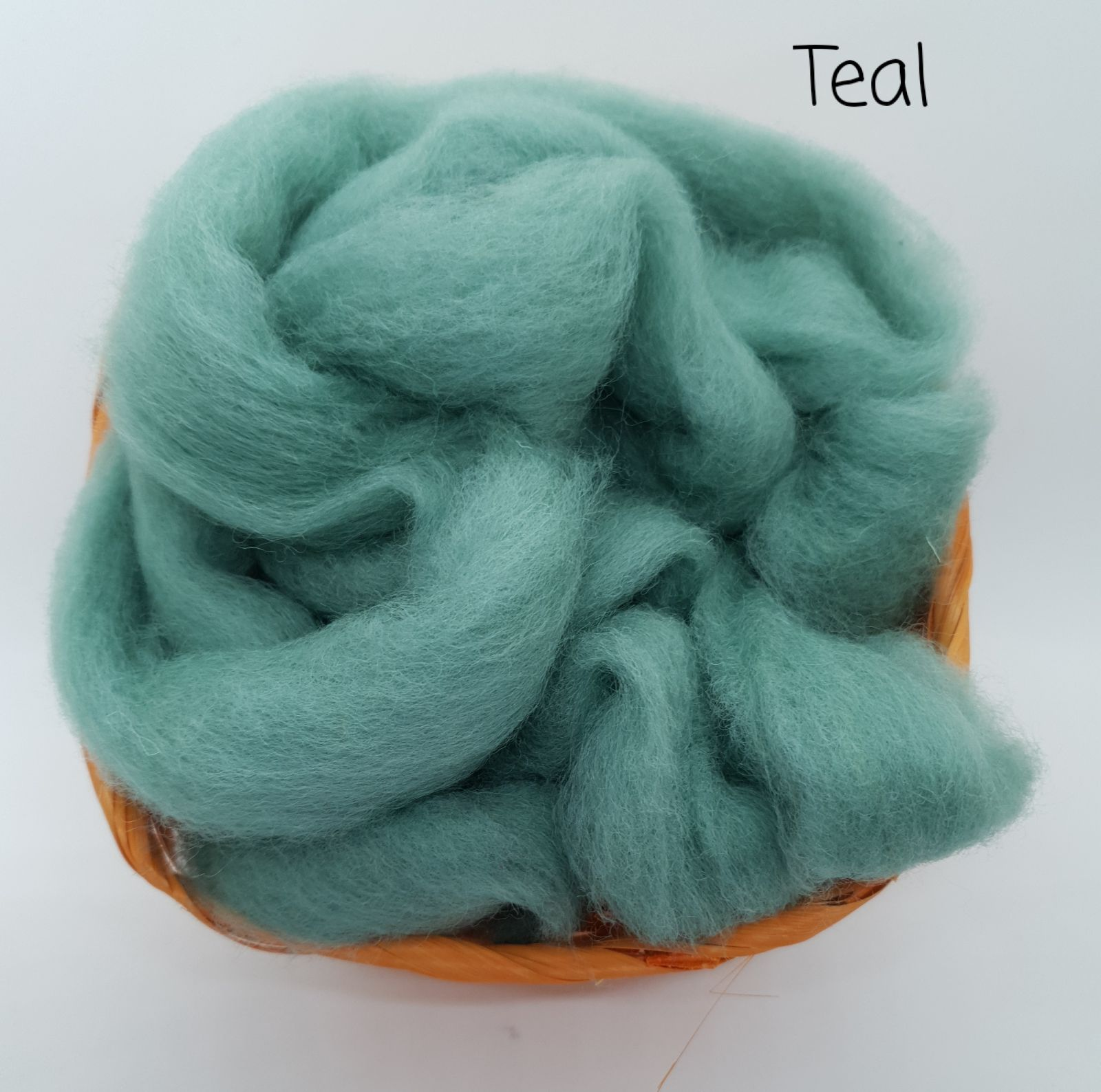 Teal- Corriedale Slither