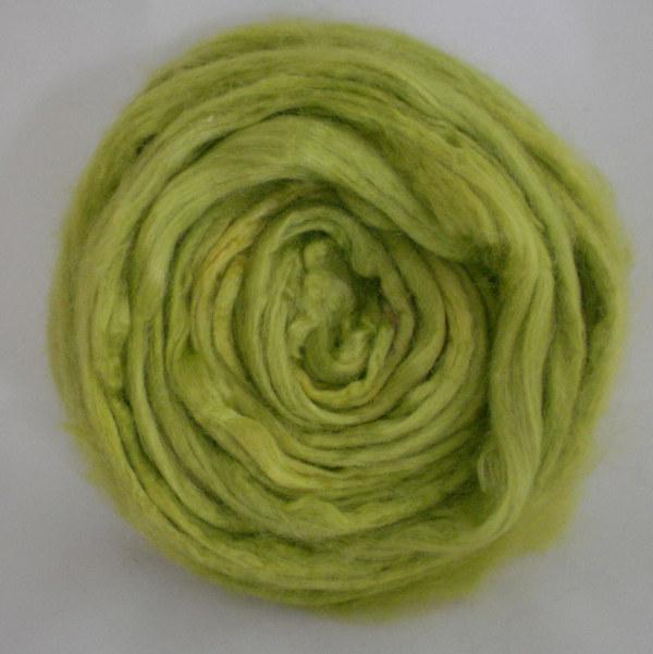 Slime Lime Tussah Silk