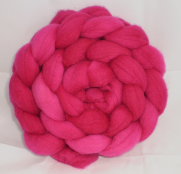 Outrageous Pink roving